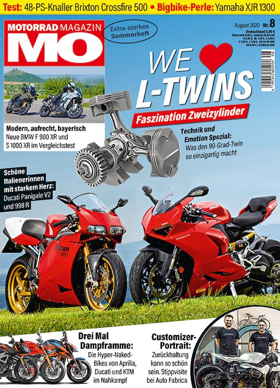 Motorrad Magazin MO 8-2020