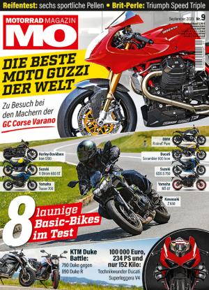 Motorrad Magazin MO 9-2020