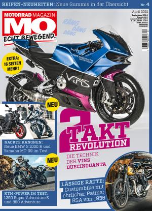 Motorrad Magazin MO 4/2021