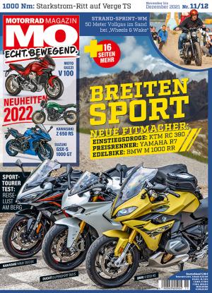 Motorrad Magazin MO 11+12/2021